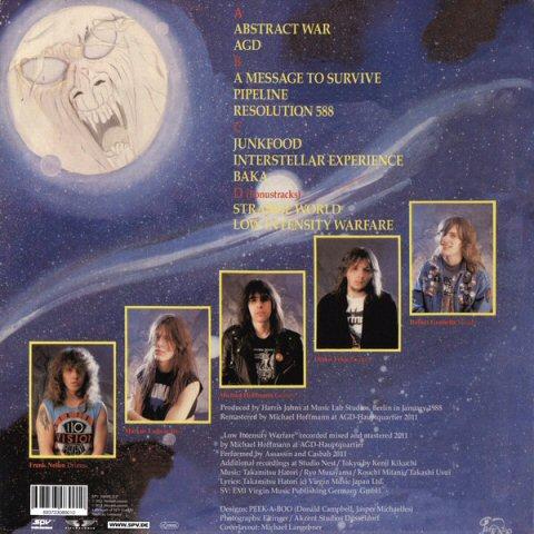 Assassin Interstellar Experience Dlp Blue Tpl Records