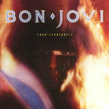 Bon Jovi 7800 Fahrenheit Cd Tpl Records