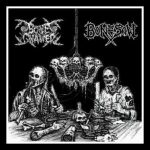 Bone Gnawer/Bonesaw -Split lp