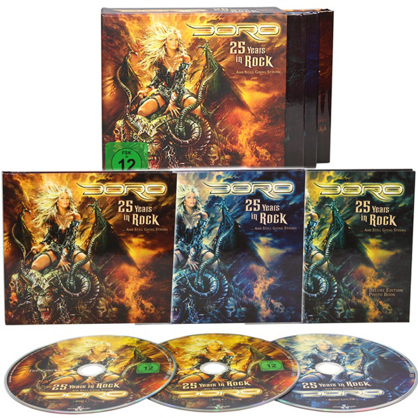 Doro 25 Years In Rock 3disc Box Tpl Records
