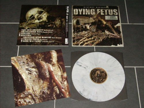 Dying Fetus History Repeats Lp Splatter Tpl Records