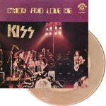 Kiss -Cmon And Love Me 7″ [smokey clear]