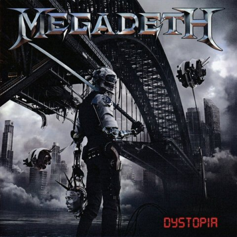 Megadeth -Dystopia cd