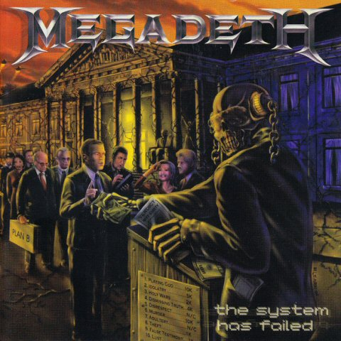 Megadeth -The System Has Failed lp – TPL Records