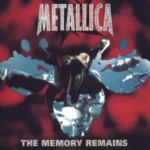 MetallicathememoryremainsCDsRED1