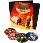 Kiss -Rocks Vegas Nevada deluxe 4 disc book [blu-ray/dcd/dvd]