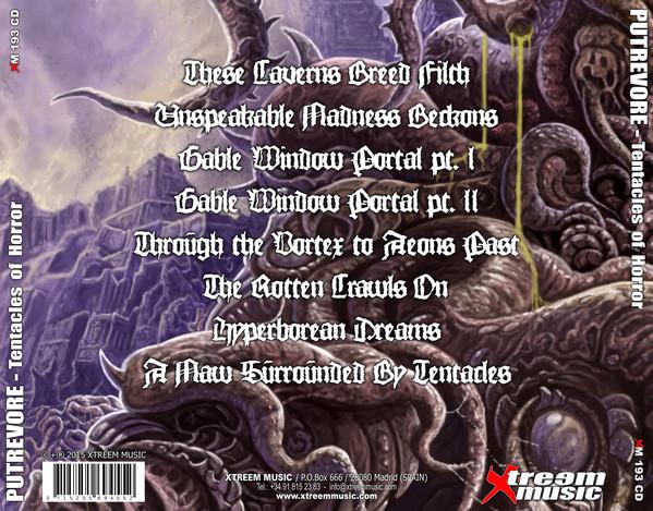 Putrevore Tentacles Of Horror Cd Tpl Records