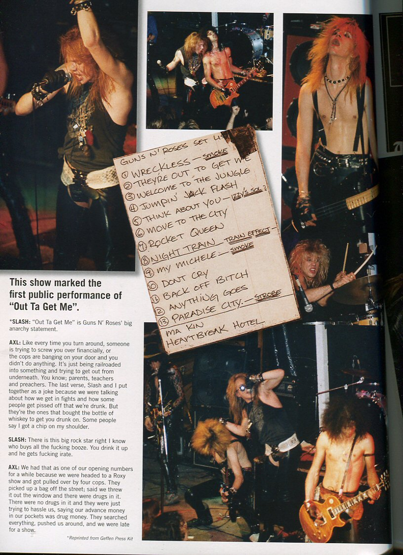 Guns N Roses Reckless Road And The Making Of Appetite For