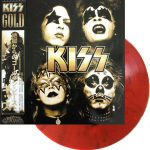 Kiss -Gold lp [red]