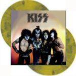 Kiss -Nashville 1984 dlp [green/clear/yellow splatter]