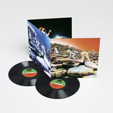 Led Zeppelin Houses Of The Holy Dlp Tpl Records