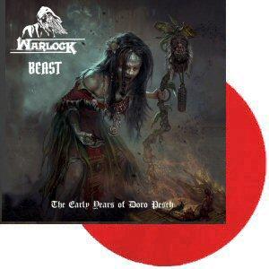 Warlock Beast Lp Red Tpl Records