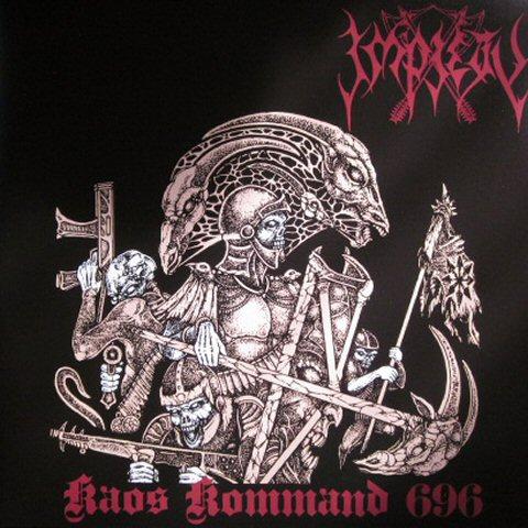 Impiety Kaos Kommand 696 Lp Tpl Records