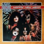 Kiss -Happy New Year dlp [orange/clear/green splatter]
