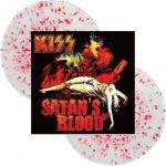 Kiss -Satans Blood dlp [clear/red splatter]