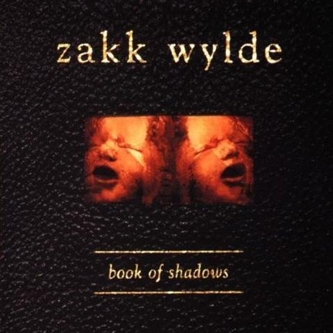 Zakk Wylde Book Of Shadows Dlp Clear Gold Splatter