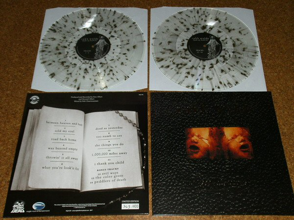 Zakk Wylde Book Of Shadows Dlp Clear Gold Splatter