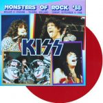 Kiss -Monsters Of Rock 88 lp [red]