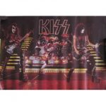 Kiss -Alive 2 live poster