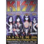 Kiss -Prague 1996 tour poster