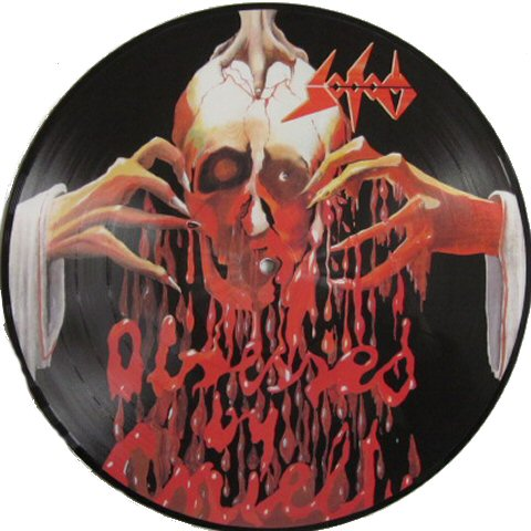 Sodom Obsessed By Cruelty Pic Disc Tpl Records