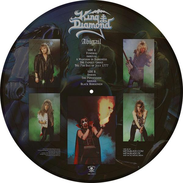 King Diamond -Abigail Pic Disc