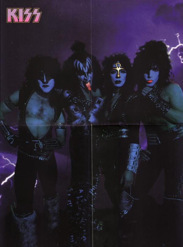 Kiss Montreal Canada 83 Dlp Tpl Records