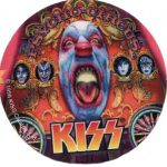 Kiss -Psycho Circus sticker
