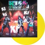 Kiss -Gods Of Thunder And R'nR lp [yellow]