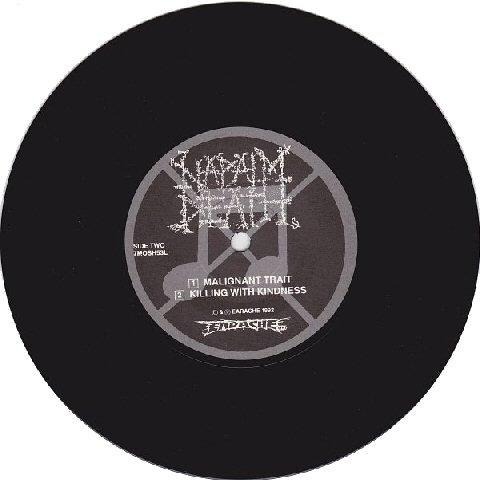 Napalm Death Utopia Banished Lp 7 Original Tpl Records