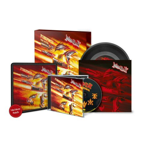 Judas Priest Firepower Box Tpl Records