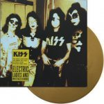Kiss ‎–Electric Ladies And Whitefaced Demons lp [gold]