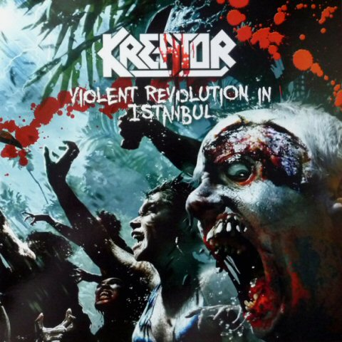 Kreator ‎–Violent Revolution In Istanbul lp