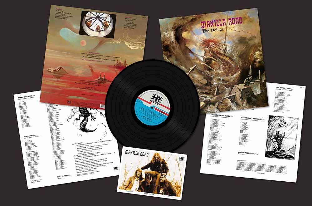 Manilla Road The Deluge Lp Tpl Records