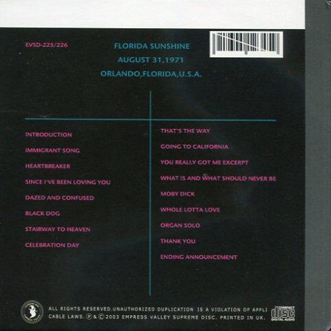 Led Zeppelin -Orlando Magic dcd [japan]