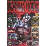 Kiss -Destroyer Super Poster 2010 The Official Kiss Army Sweden Magazine