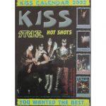 Kiss -Strike The Official Kiss Army Italy 2002 Calendar